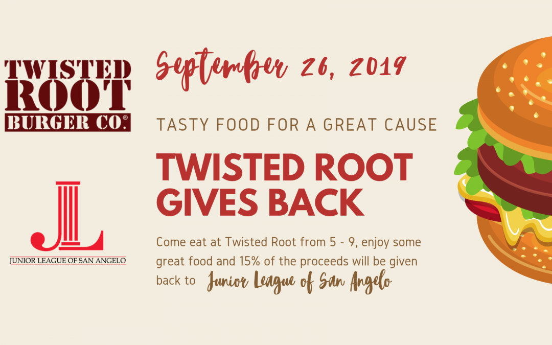 Twisted Root Gives Back